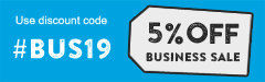 5% Off - Business Sale.