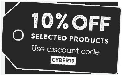 Discount code CYBER19