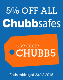Use discount code CHUBB5