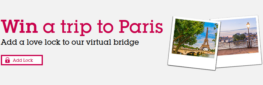Win a trip to Paris