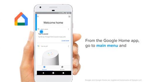 EZVIZ Google Home Setup