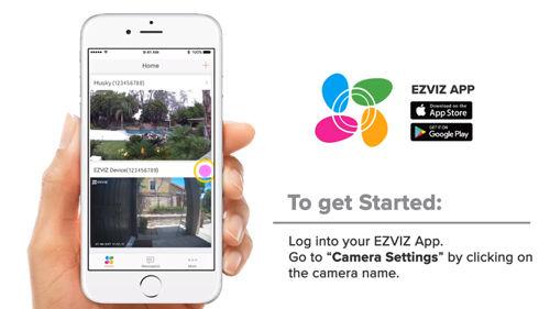 EZVIZ Amazon Alexa Setup