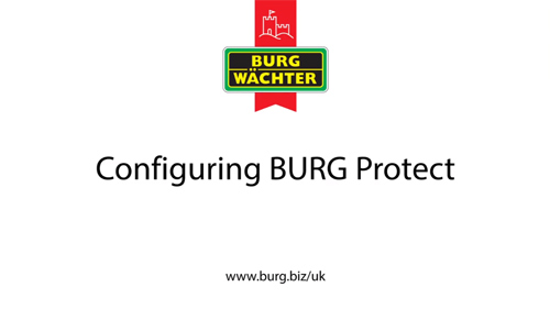 BURG Protect Setup Video