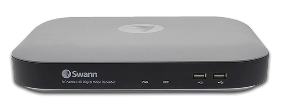Swann DVR-4980 8 Channel 5MP - 4 Camera | True Detect CCTV Kit | Safe
