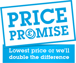 Lowest price and we'll double the difference