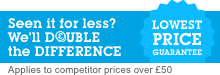 Double the Difference - Lowest Price Guarantee