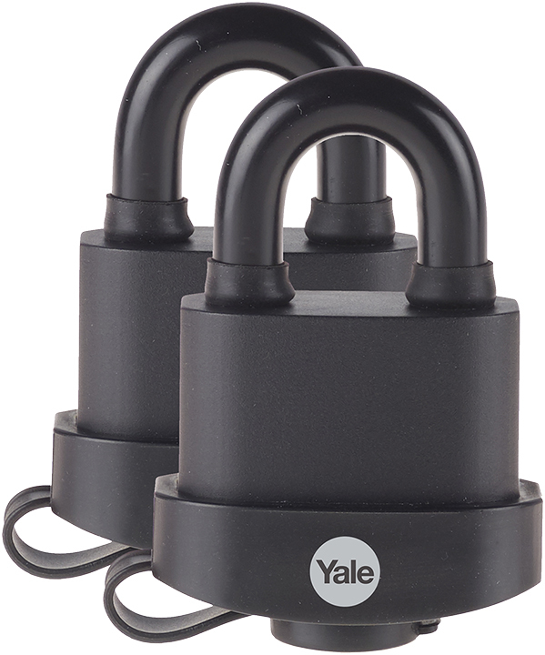 Yale Y220//51//118//1 Y220 51mm Weatherproof Padlock