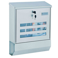 Rottner Jubilee 40 - Stainless Steel Post Box Set