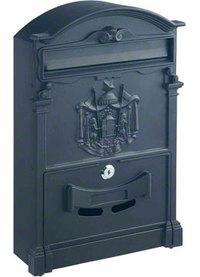 Rottner Ashford Black - Steel Post Box