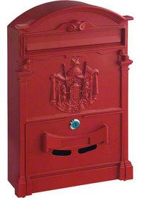 Rottner Ashford Red - Steel Post Box