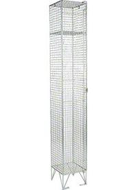 RMP 1 Door - Deep Wire Mesh Locker