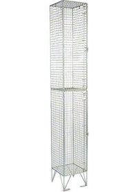 RMP 2 Door - Deep Wire Mesh Locker