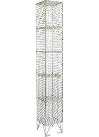 RMP 5 Door - Deep Wire Mesh Locker