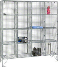 RMP 16 Door - Wire Mesh Locker