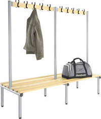 Probe 2000mm Double Sided Hook Bench (Light Ash)