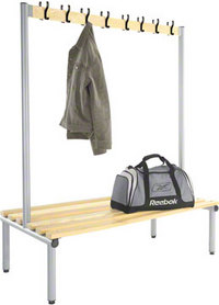 Probe 1500mm Double Sided Hook Bench (Light Ash)