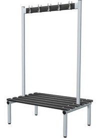 Probe 1000mm Double Sided Hook Bench (Black Polymer)