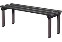 Probe 1200mm Single Sided Bench (Black Polymer)