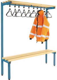Probe 1500mm Single Sided Overhead Bench (Light Ash)