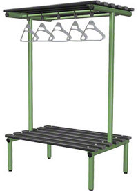 Probe 1000mm Double Sided Overhead Bench (Black Polymer)