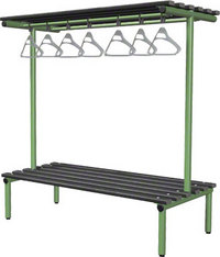 Probe 1500mm Double Sided Overhead Bench (Black Polymer)