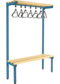 Probe 1000mm Single Sided Overhead Bench (Light Ash)