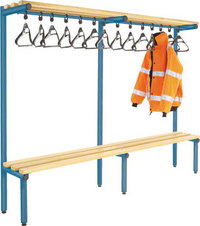 Probe 2000mm Single Sided Overhead Bench (Light Ash)