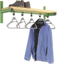 Probe 1000mm Wall Mounted Shelf & Rail (Light Ash)