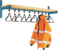 Probe 1500mm Wall Mounted Shelf & Rail (Light Ash)