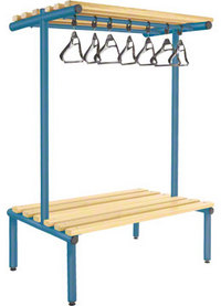 Probe 1000mm Double Sided Overhead Bench (Light Ash)