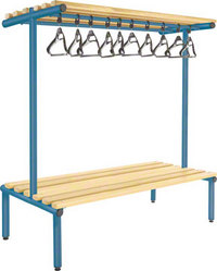 Probe 1500mm Double Sided Overhead Bench (Light Ash)