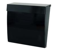G2 Post Boxes Calder Black - Steel Post Box