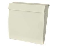 G2 Post Boxes Calder White - Steel Post Box