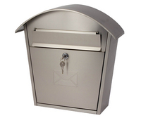 G2 Post Boxes Humber - Stainless Steel Steel Post Box