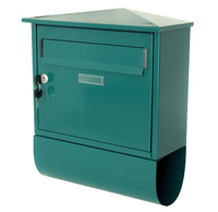 G2 Post Boxes Itchen Green - Steel Post Box