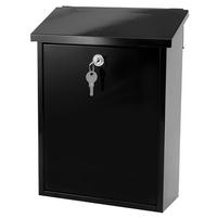G2 Post Boxes Liffey Black - Fence Post Box
