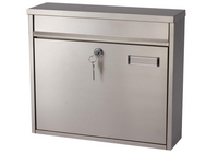 G2 Post Boxes Ouse - Stainless Steel Post Box