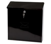 G2 Post Boxes Severn Black - Steel Post Box