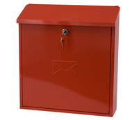 G2 Post Boxes Severn Red - Steel Post Box