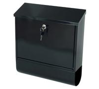 G2 Post Boxes Tees Black - Steel Post Box
