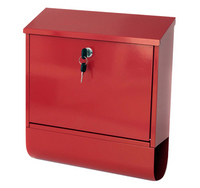 G2 Post Boxes Tees Red - Steel Post Box