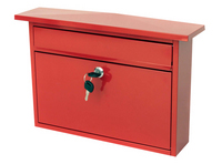 G2 Post Boxes Teme Red - Steel Post Box