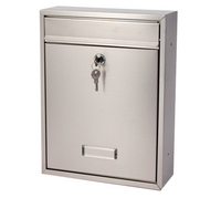 G2 Post Boxes Trent - Stainless Steel Post Box