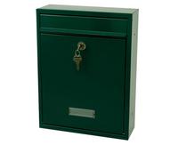 G2 Post Boxes Trent Green - Steel Post Box