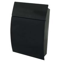 G2 Post Boxes Tweed Black - Steel Post Box