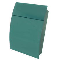 G2 Post Boxes Tweed Green - Steel Post Box
