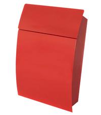 G2 Post Boxes Tweed Red - Steel Post Box