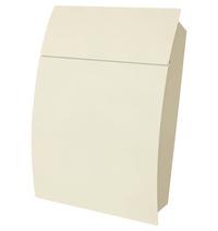 G2 Post Boxes Tweed White - Steel Post Box
