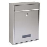Burton Simplex - Stainless Steel Post Box