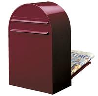 Bobi Bobi - Classic B Bordeaux Rear Access Letter Box
